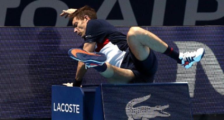Polémica nos pares das ATP Finals: Pavic acusa Mahut de fingir lesão após queda