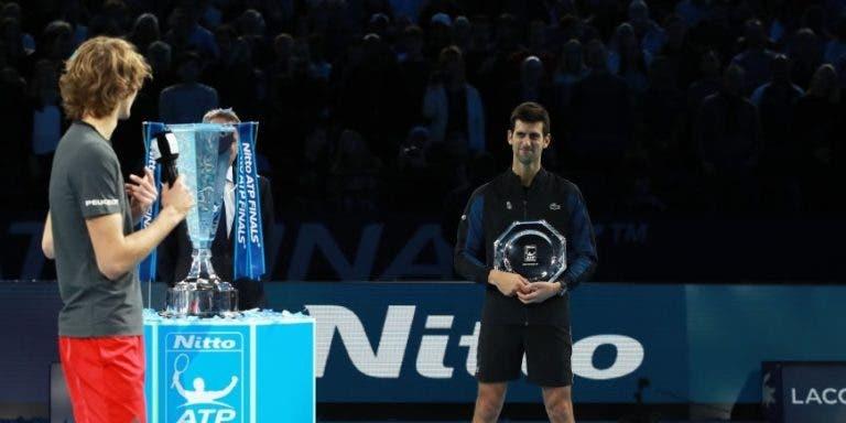 Zverev para Djokovic: «Aprecio o facto de me teres deixado ganhar um»