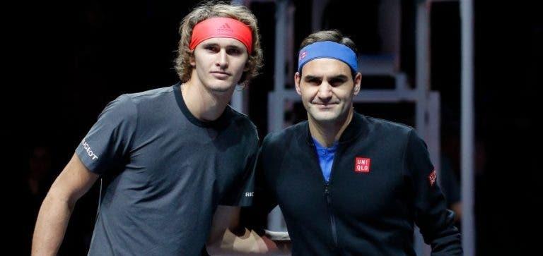 Zverev: «O Federer merece todos os fãs que tem»