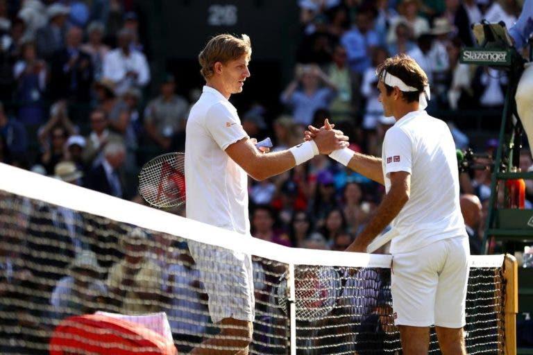 Anderson: «Vencer o Federer em Wimbledon foi algo único»