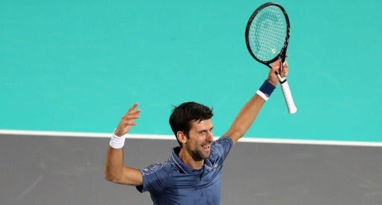 JOGÃO! Djokovic vira e bate Anderson para conquistar Abu Dhabi pela 4.ª vez