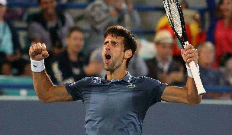 O objetivo de Djokovic: «Ganhar o maior número de Grand Slams possível»