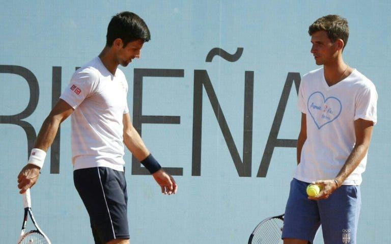 Djokovic vai jogar pares em Doha com… Djokovic