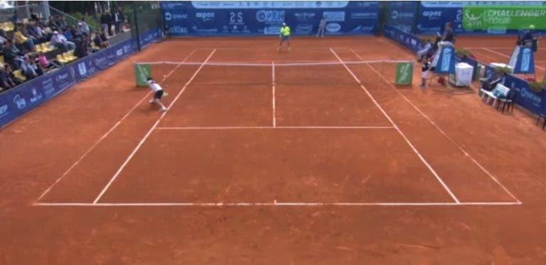 [VÍDEO] O melhor ponto da temporada no circuito Challenger… é de um português