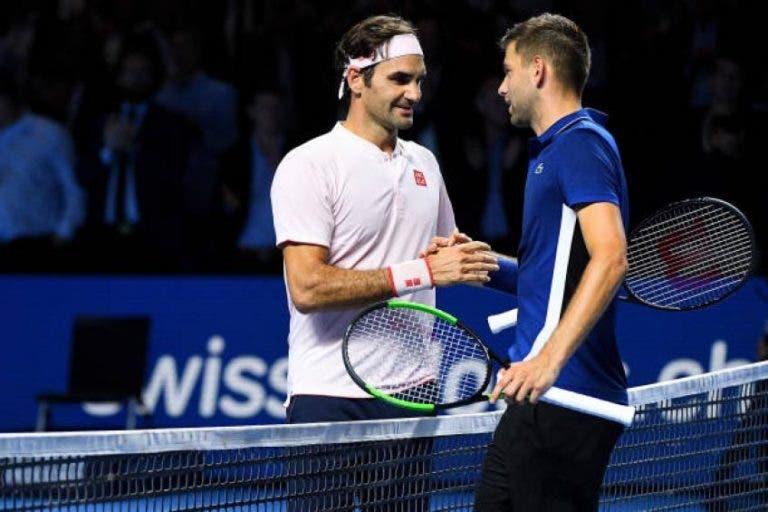 Krajinovic recorda duelo com Federer em Basileia: «Ele estava a colocar pressão no árbitro»