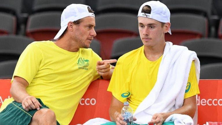 Hewitt revê-se em De Minaur: «Está disposto a fazer de tudo»