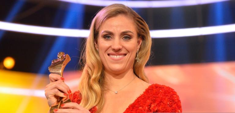 Angelique Kerber é a melhor desportista da Alemanha em 2018