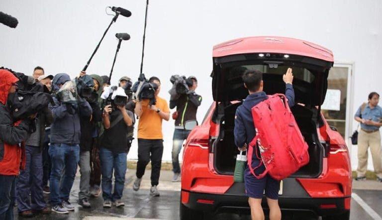 [VÍDEO] Loucura total: Nishikori recebeu 50 jornalistas japoneses na Florida