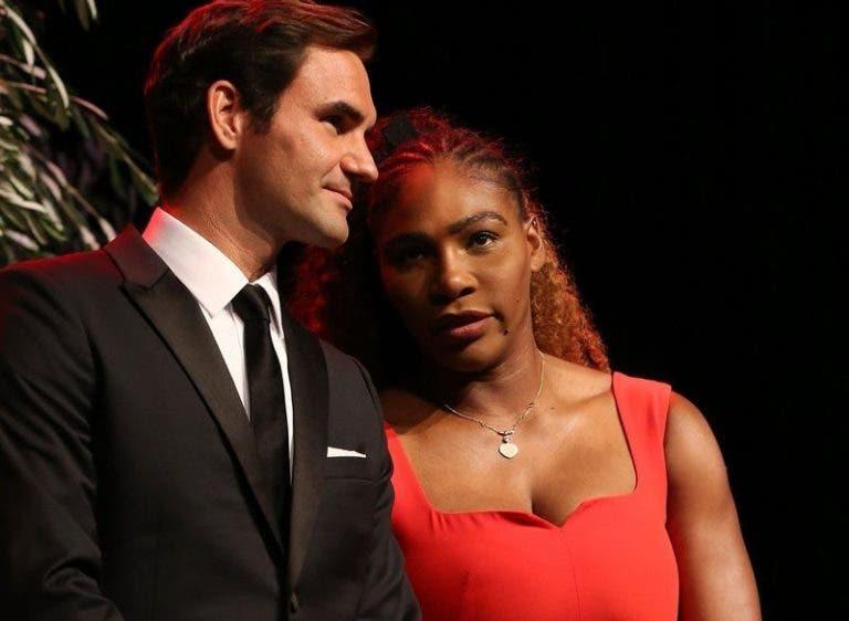 Serena sobre duelo com Federer: «Felizmente que não é singulares»