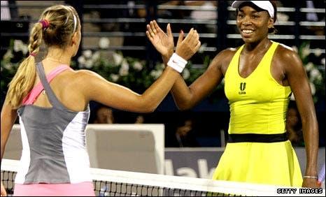 Venus Williams e Azarenka defrontam-se em Auckland… na primeira ronda
