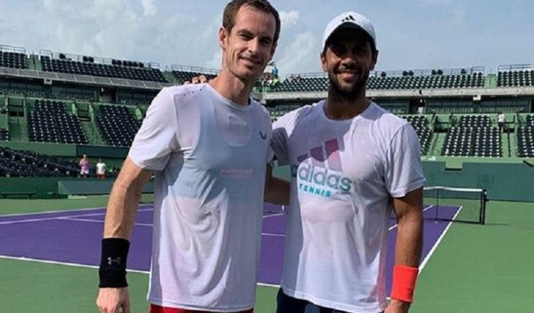 Murray treina com Verdasco após polémica do US Open e recita sobre medical time outs no Instagram