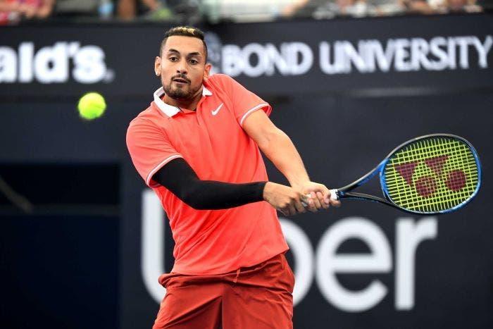 Kyrgios: «Não preciso de ser cabeça-de-série para chegar longe num Grand Slam»