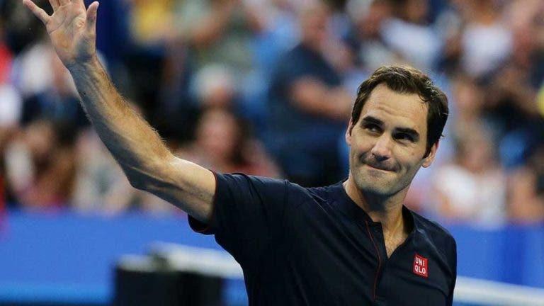 Federer regressa já esta segunda-feira à competição no Dubai