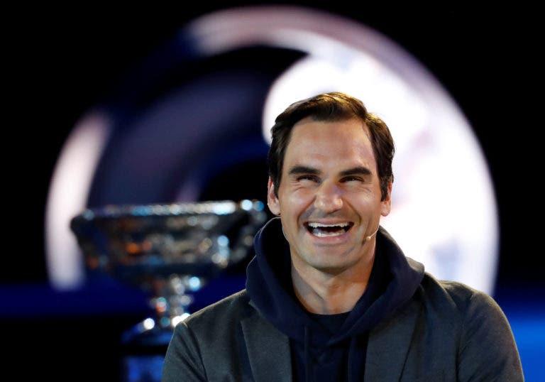 Estoril Open 'convida' Federer a jogar em Portugal este ano
