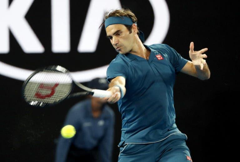 Federer inicia defesa do Australian Open com triunfo tranquilo