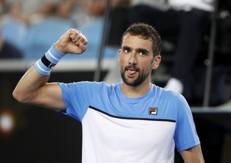 Cilic ultrapassa batalha de 3h30 e qualifica-se para a 3.ª ronda do Australian Open