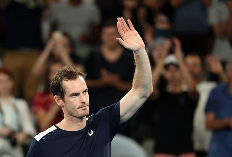 Murray admite o fim: «Pode ter sido o meu último encontro, vou decidir nos próximos dias»