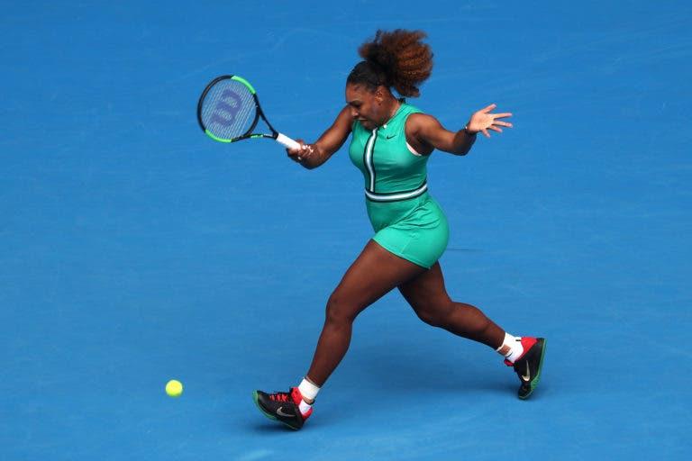 Serena entra com triunfo arrasador e pode encontrar na 2.ª ronda do Australian Open… Bouchard