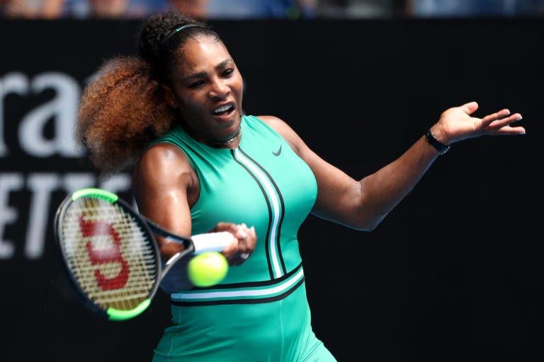 Serena Williams: «Estou a lutar para chegar aos 24 Grand Slams»