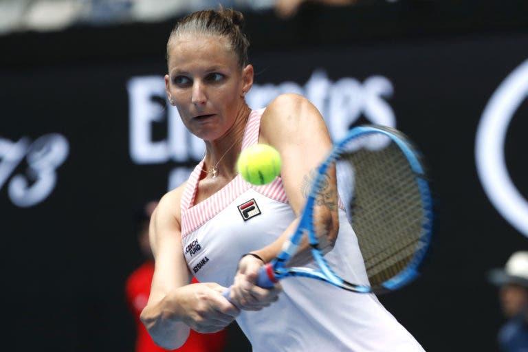 Pliskova perde o primeiro set e… arrasa nos dois seguintes rumo à 3.ª ronda do Australian Open