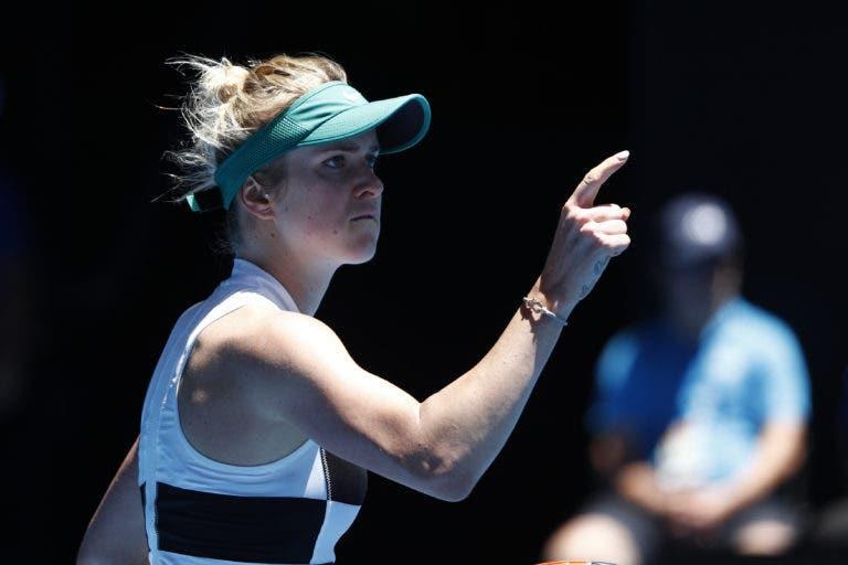 Svitolina sofre muito, recupera de dois breaks de desvantagem no terceiro set mas segue para os 'oitavos'