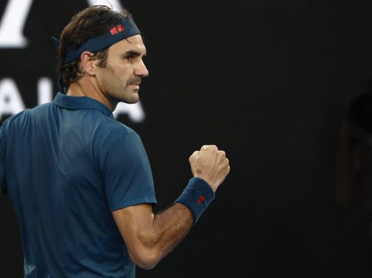 Federer volta a sofrer mas derrota Verdasco rumo aos quartos de final no Dubai