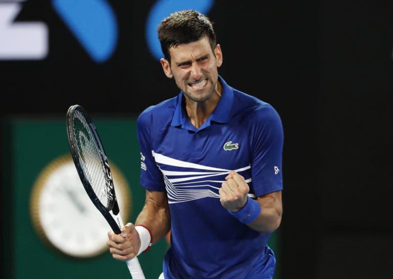 Djokovic impõe-se frente a Medvedev e avança para os 'quartos' no Australian Open