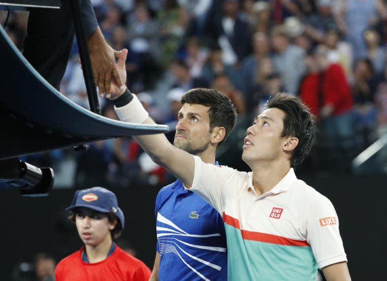 Djokovic e o duelo com Nishikori: «Se tenho o número dele? Sim… No telemóvel!»