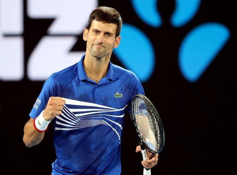 Vajda: «Djokovic ainda está longe dos 20 títulos do Grand Slam do Federer»