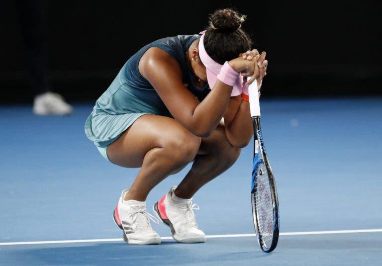 [VÍDEO] O momento em que Osaka conquista o Australian Open e se torna na nova número um mundial