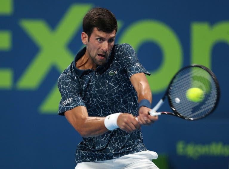 Djokovic vence de forma arrasadora e avança para os 'oitavos' em Doha