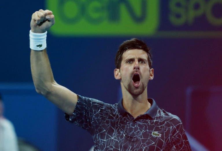 Sobrevive! Djokovic apanha susto mas avança para os quartos de final em Doha