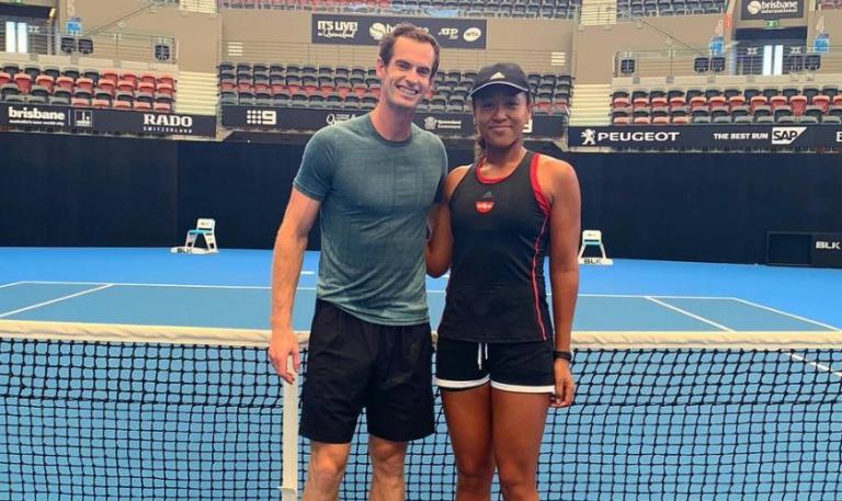 Andy Murray 'provoca' Osaka: «Estou desapontado por não ser referenciado aqui…»