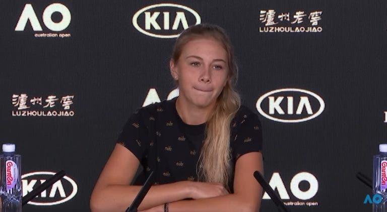 [VÍDEO] Anisimova conta o gesto de Serena que nunca vai esquecer