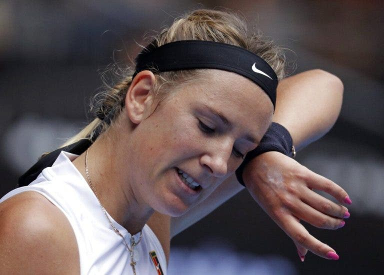 Azarenka perde na primeira ronda do Open da Austrália 13 anos depois