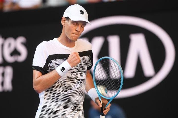 Berdych continua em grande no regresso à competição e já está na 3.ª ronda do Australian Open