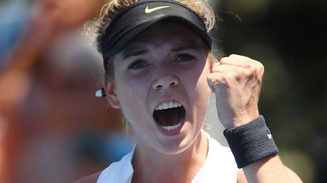 Katie Boulter vence encontro que entra para a história dos torneios do Grand Slam