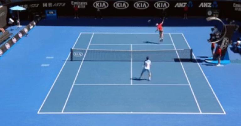 [VÍDEO] Pedro Sousa e Alex De Minaur dão espetáculo em Melbourne