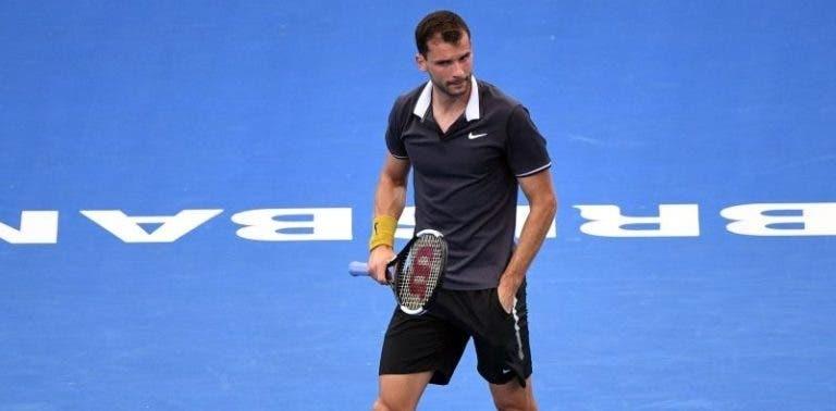 Dimitrov continua a excelente nível e já está nos 'quartos' em Brisbane; Edmund perde com o número 185 ATP