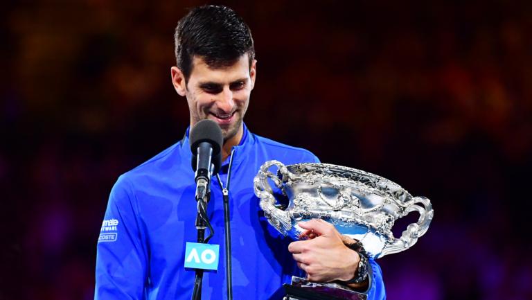 Djokovic isola-se de Sampras e já é o terceiro maior campeão de Grand Slam da história