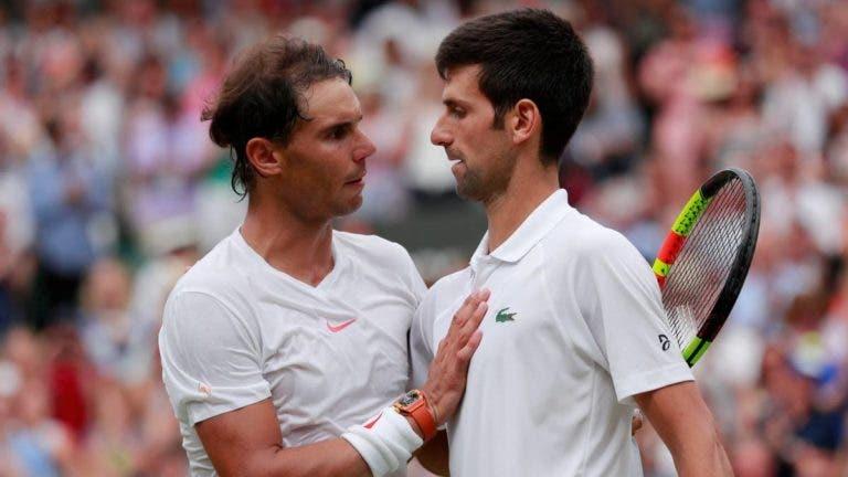 Djokovic sobre Nadal: «É uma das maiores lendas. Queremos vê-lo jogar»