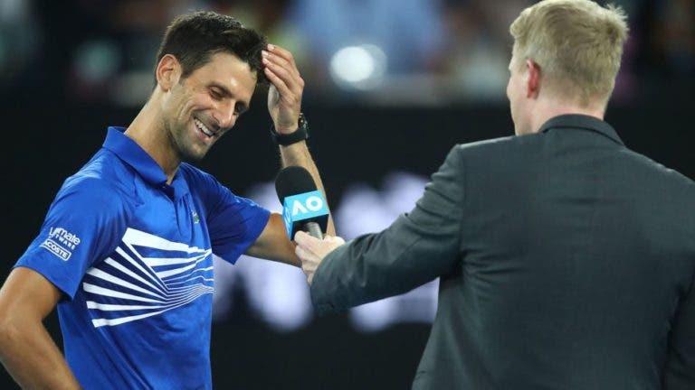 Djokovic sobre final com Nadal: «Vou querer comprar um bilhete para esse encontro»