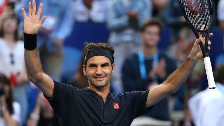 Roger Federer torna-se no maior campeão da história da Hopman Cup