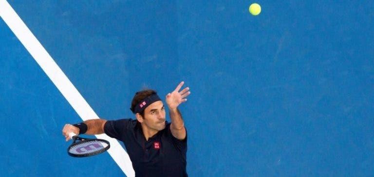 Federer coloca Tsitsipas em sentido e a Suíça está (outra vez) na final da Hopman Cup