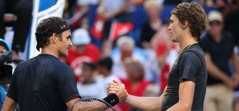 Zverev: «Estou farto de ti, Roger. Tu tens trinta e quantos? Porquê?»