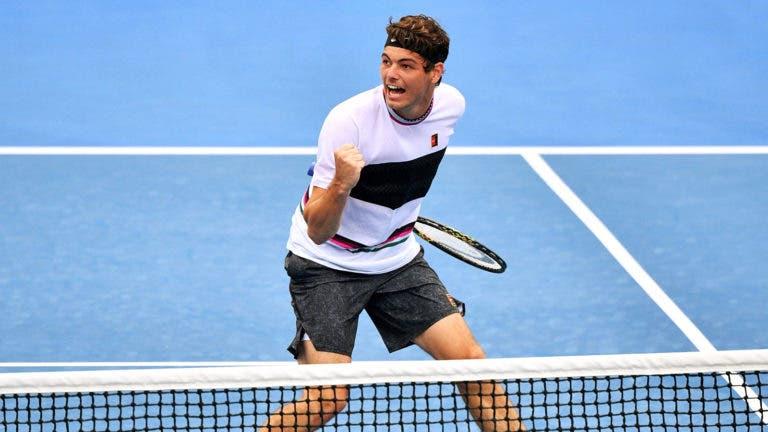 Fritz desvia-se de Monfils e esbarra em Federer