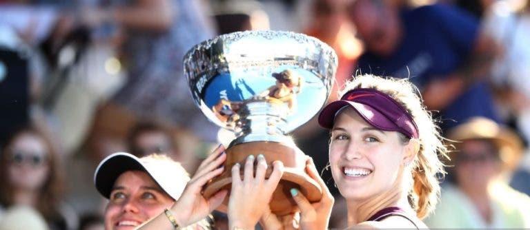 Genie Bouchard entra em 2019… com um título WTA