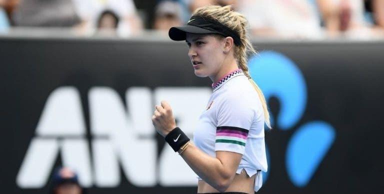 Bouchard recebe wild card para um dos primeiros WTA pós-pandemia