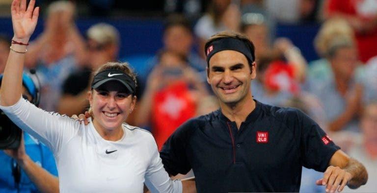 Adeus, Hopman Cup. Federer e Bencic venceram aquela que deve ser a última edição