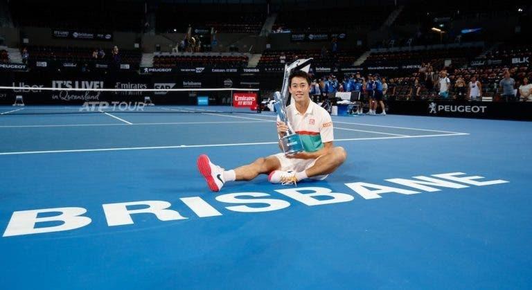 Nishikori: «Nunca tinha começado o ano assim tão bem, quero ter uma grande época»